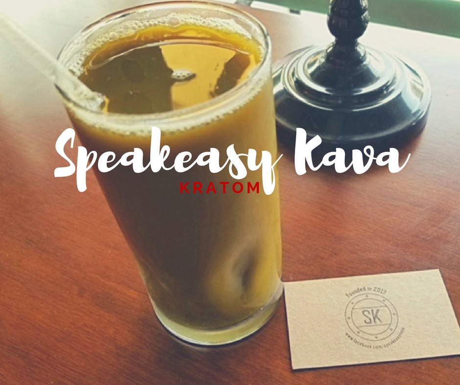 speakeasy green kratom tea